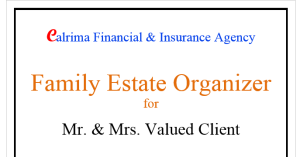 Family Estate Organizer